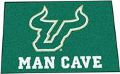 Fan Mats Univ of S. Florida Man Cave Starter Mat
