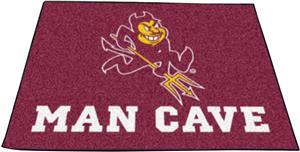 Fan Mats Arizona State Univ Man Cave Tailgater Mat