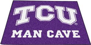 Fan Mats Texas Christian Man Cave Tailgater Mat