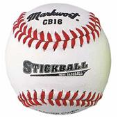 "Markwort 6.5"" Leather Stickballs-Mini Baseballs"