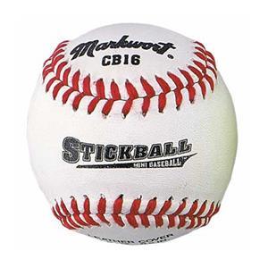 "Markwort 6.5"" Leather Stickballs-Mini Baseballs"