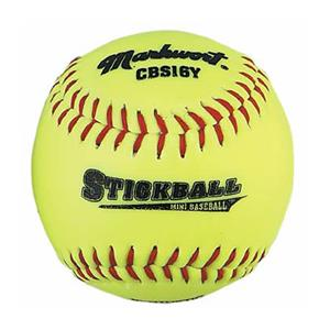 "Markwort 6.5"" Synthetic Stickballs/Mini Baseballs"