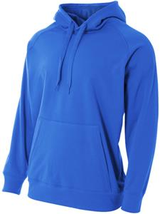 A4 Adult/Youth Solid Tech Fleece Pullover Hoodie