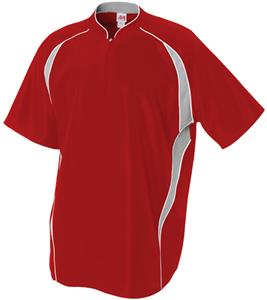A4 Polyester 1/4 Zip Baseball Batting Jacket - Baseball Equipment ...