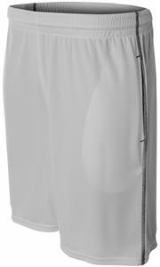 """A4 Mens 9"""" Pocketed Short w/Contrast Stitching"""