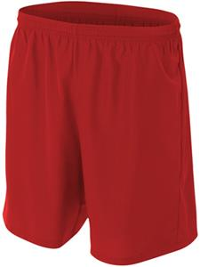 A4 Adult/Youth Woven Polyester Soccer Shorts