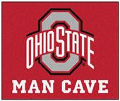 Fan Mats Ohio State Univ Man Cave Tailgater Mat