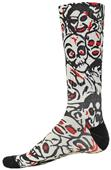 Red Lion Zombie Sublimated Print Crew Socks