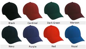 MVP Series Adjustable Baseball Cap 8 Colors