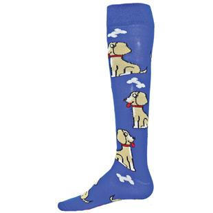 Red Lion Doggie Knee High Socks - Closeout