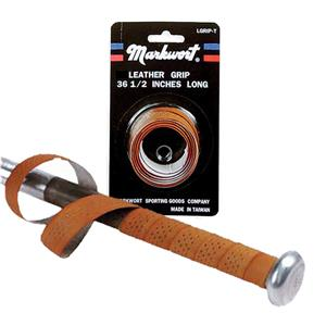 Markwort Tan Leather Bat Grips