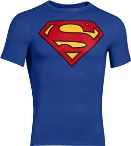 Under Armour Alter Ego Superman Compression Shirt
