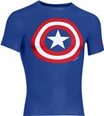 Under Armour Alter Ego Captain America Comp. Shirt