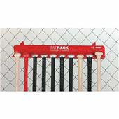 Markwort Aluminum Baseball Bat Fence Racks