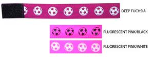 Soccer Sleeve Ties (PAIRS) - PINK  soccer gifts