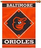 "MLB Baltimore Orioles 28"" x 40"" House Banner"