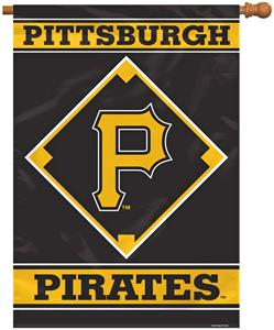 "MLB Pittsburgh Pirates 28"" x 40"" House Banner"
