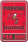 NFL Tampa Bay Buccaneers Fan Zone Parking Sign