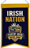 Winning Streak NCAA Notre Dame Nations Banner