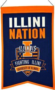 Winning Streak NCAA Illinois Nations Banner