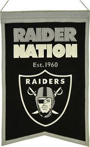 Winning Streak NFL Raiders Franchise Banner