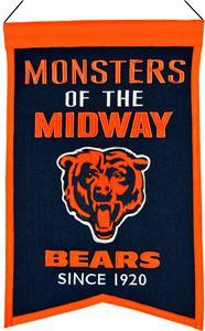 Winning Streak NFL Chicago Bears Franchise Banner