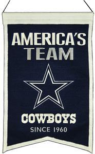 Winning Streak NFL Dallas Cowboys Franchise Banner
