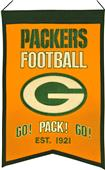 Winning Streak NFL GB Packers Franchise Banner
