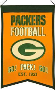 Winning Streak NFL GB Packers Franchise Banner