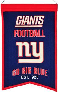 Winning Streak NFL NY Giants Franchise Banner