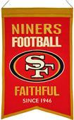 Winning Streak NFL SF 49ers Franchise Banner