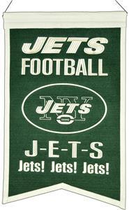 Winning Streak NFL New York Jets Franchise Banner
