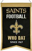 Winning Streak NFL Saints Franchise Banner
