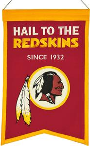 Winning Streak NFL Redskins Franchise Banner