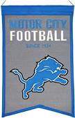Winning Streak NFL Detroit Lions Franchise Banner