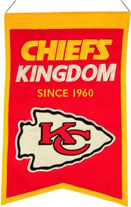 Winning Streak NFL KC Chiefs Franchise Banner