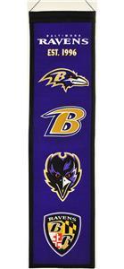 Winning Streak NFL Ravens Heritage Banner