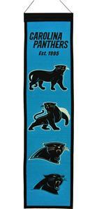 Winning Streak NFL Panthers Heritage Banner