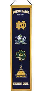 Winning Streak NCAA Notre Dame Heritage Banner