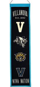 Winning Streak NCAA Villanova Heritage Banner