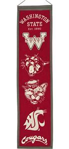 Winning Streak NCAA Washington St Heritage Banner