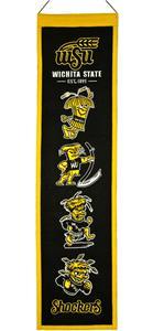 Winning Streak NCAA Wichita State Heritage Banner