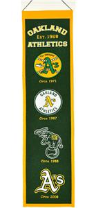 Winning Streak MLB Oakland A's Heritage Banner
