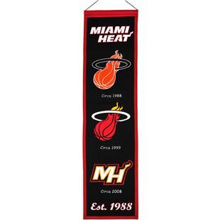 Winning Streak NBA Miami Heat Heritage Banner