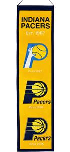 Winning Streak NBA Indiana Pacers Heritage Banner