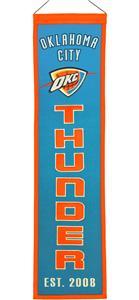 Winning Streak NBA OKC Thunder Heritage Banner