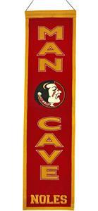 Winning Streak NCAA Florida State Man Cave Banner