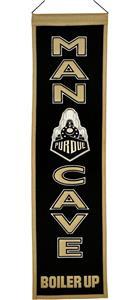Winning Streak NCAA Purdue Man Cave Banner