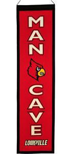Winning Streak NCAA Louisville Man Cave Banner