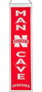 Winning Streak NCAA Nebraska Man Cave Banner